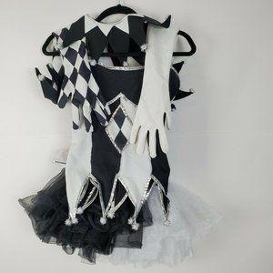 Costumes USA Womens 5 Pc Costume Top Shorts Tutu S